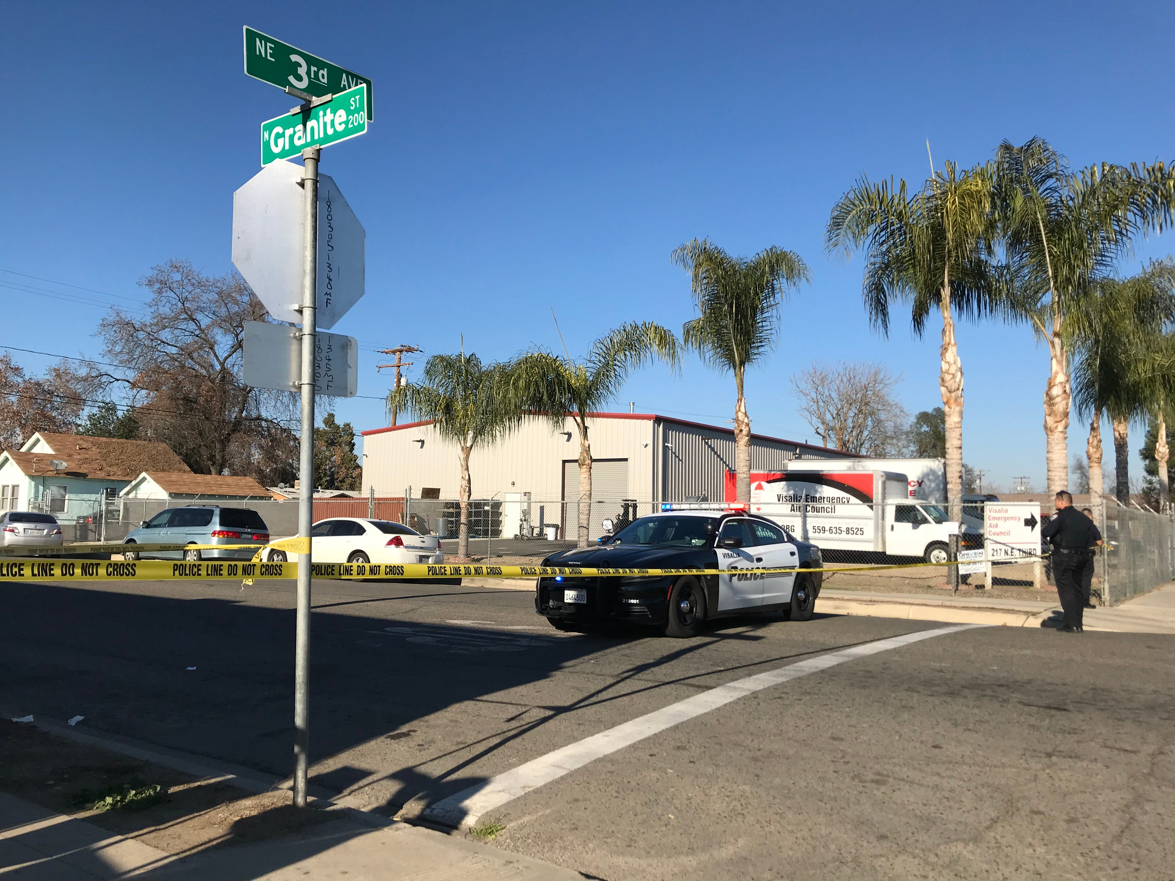 Police are engaged in a standoff with a man suspected of shooting his own brother near Oval Park. Roads are closed between 3rd Avenue and Granite Street.