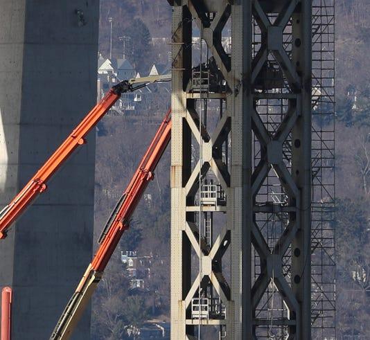 Tappan Zee Bridge Demolition Preparation