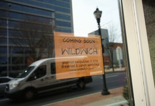 WiLDWich is opening a new location on 405 N. King St. in Wilmington.