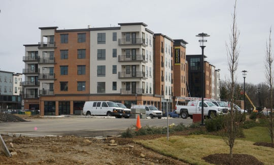 Construction continues on The Concord, a new complex from the Buccini/Pollin Group at 3535 Silverside Rd., Talleyville, where  El Camino Mexican Kitchen and Taverna will open.