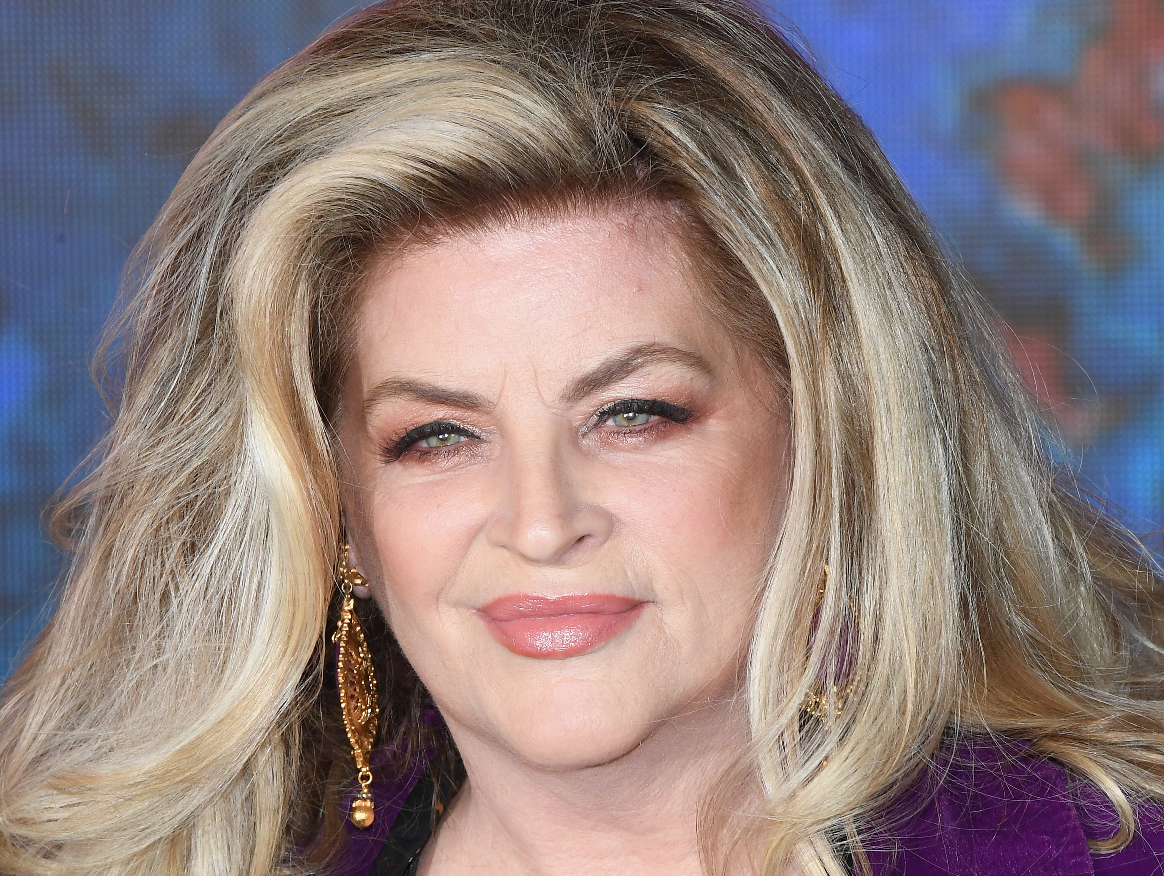 BOREHAMWOOD, ENGLAND - AUGUST 16:  Kirstie Alley enters the Celebrity Big Brother house at Elstree Studios on August 16, 2018 in Borehamwood, England.  (Photo by Stuart C. Wilson/Getty Images) ORG XMIT: 775210087 ORIG FILE ID: 1017791726