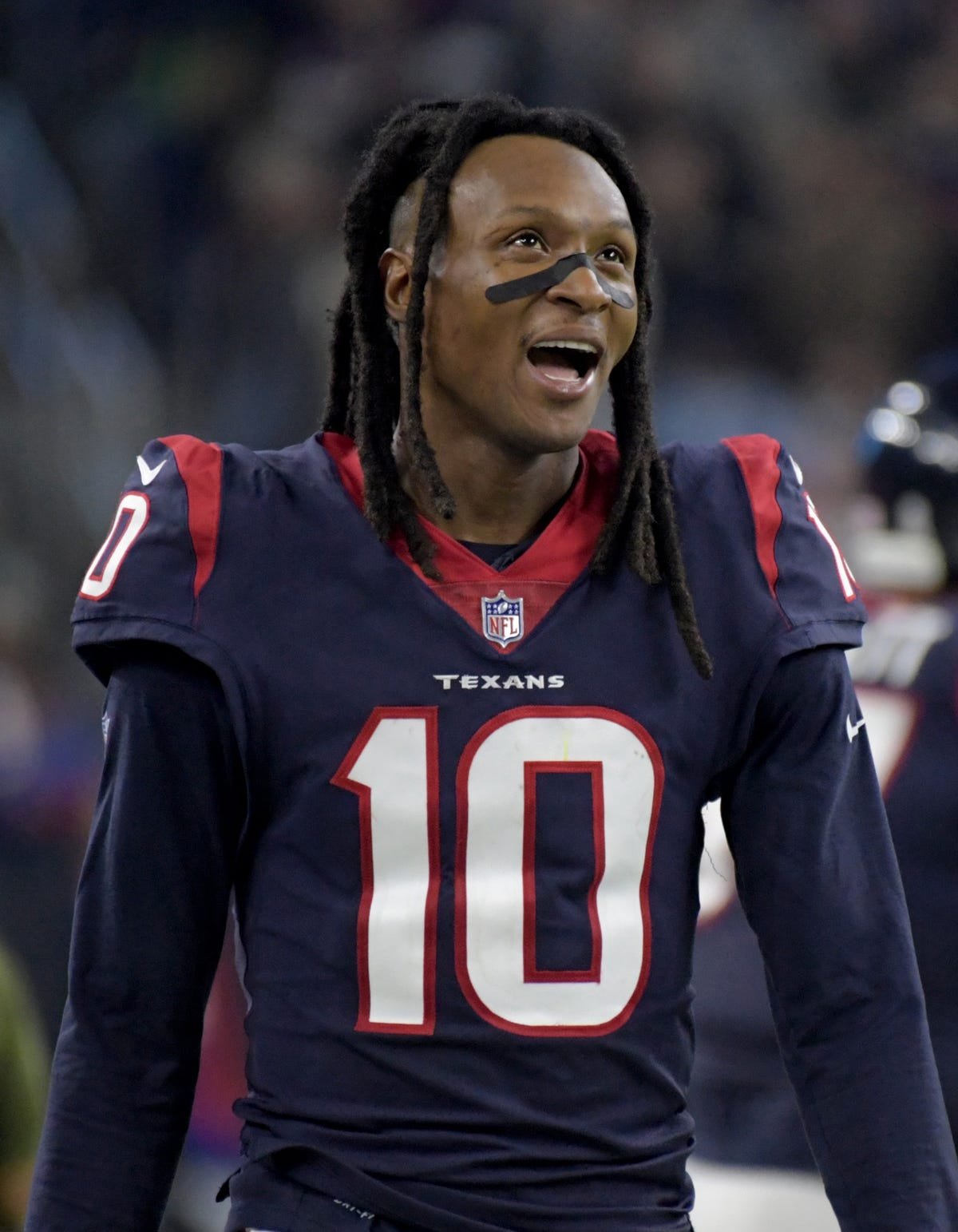 d7bae580 DeAndre Hopkins: Texans WR dedicates playoff game to Jazmine Barnes ...