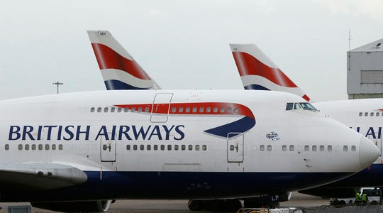 A British Airways flight from London to Germany accidentally took off in the wrong direction, landing 525 miles away in Scotland.