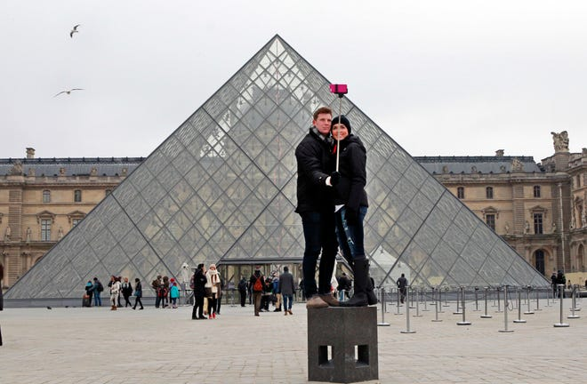 The world's most visited museum, the Louvre in Paris registered 10.2 million visitors in 2018, a record boosted by a rise of foreign tourists and pop star Beyonce's video paying tribute to the Mona Lisa and others world-famous artworks.