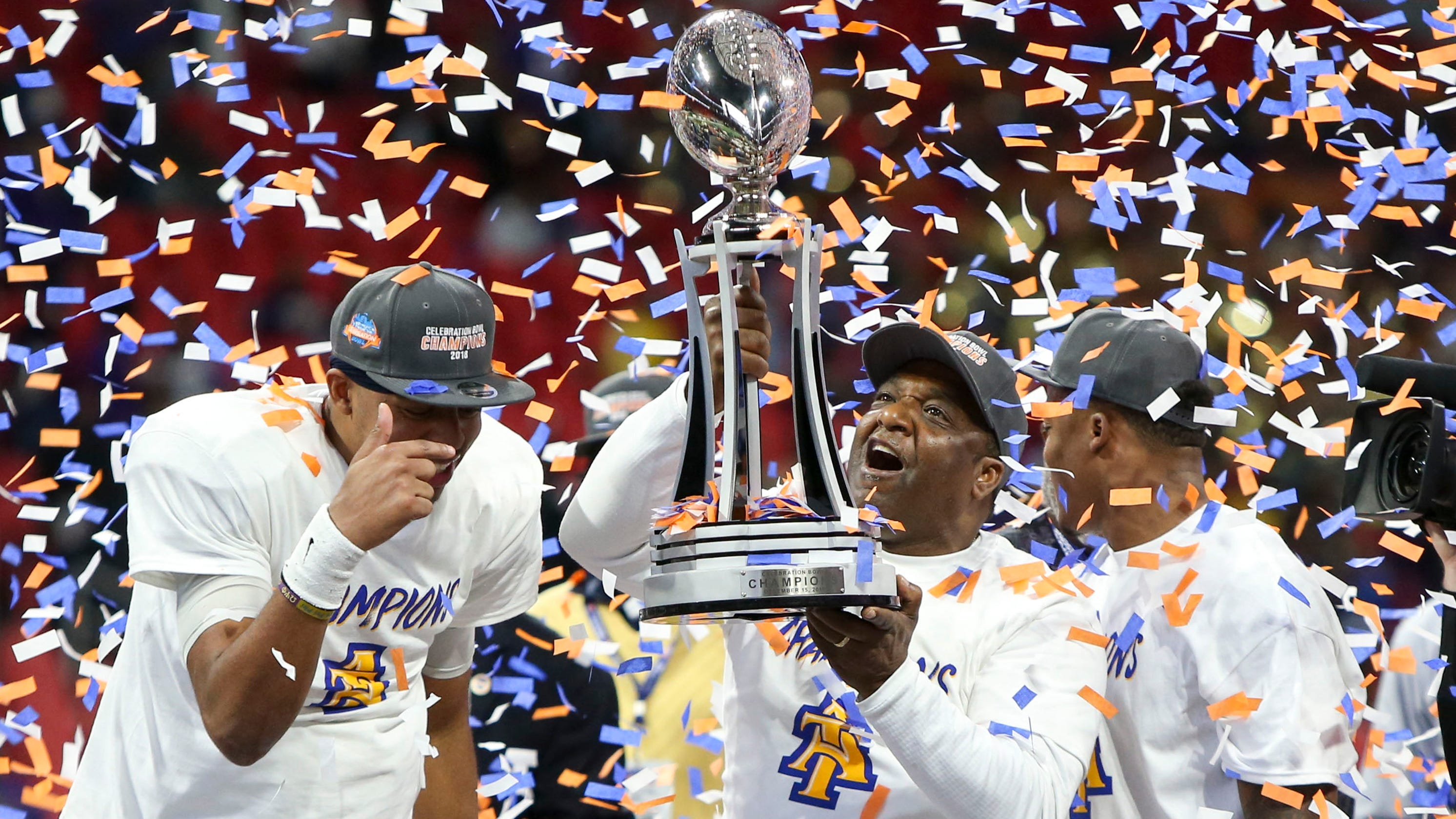 Image result for hbcu football players 2019 sitting on sideline