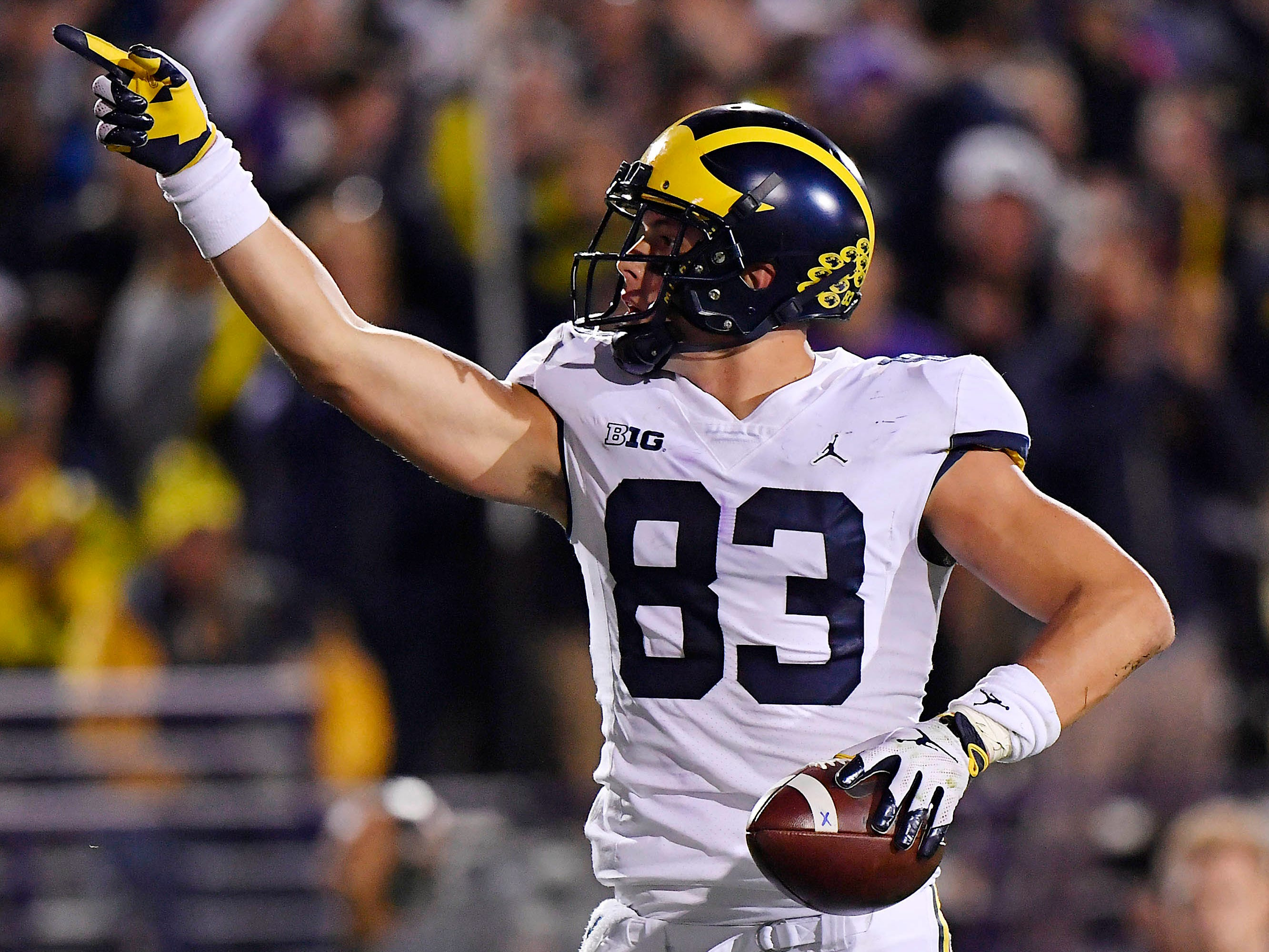 Zach Gentry, TE, Michigan