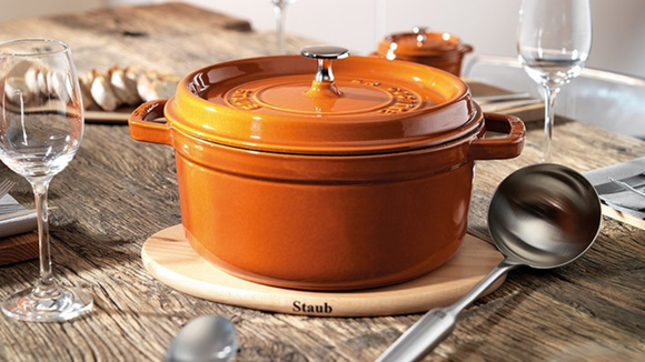 A Staub looks gorgeous in any home.