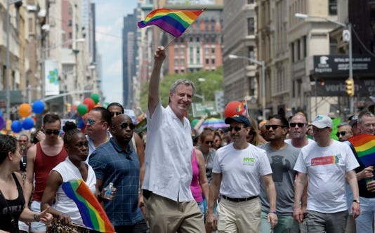 Epa Usa New York Lgbt Pride March Pol Human Rights Citizens Initiative Recall Usa Ny