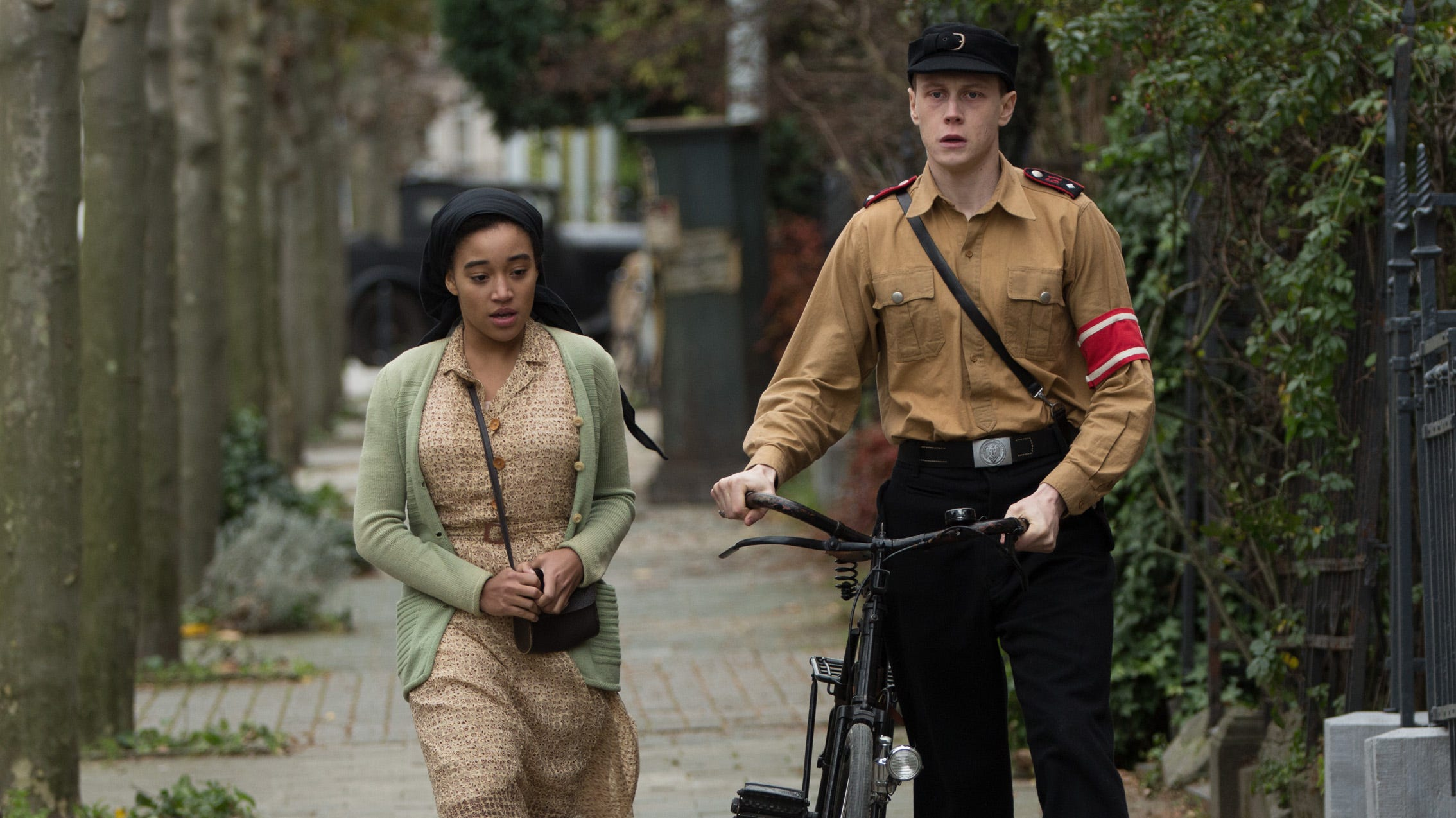 Amandla Stenberg's interracial Nazi Germany love story sparks outrage on Twitter
