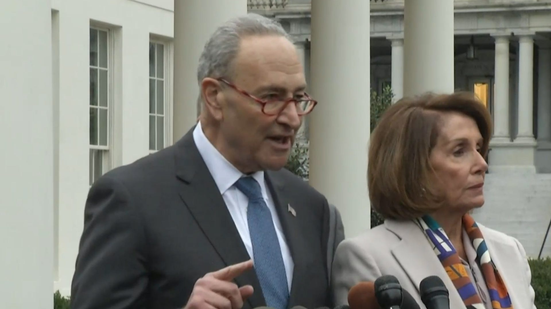 Democrat leaders say they have a new plan to end government shutdown