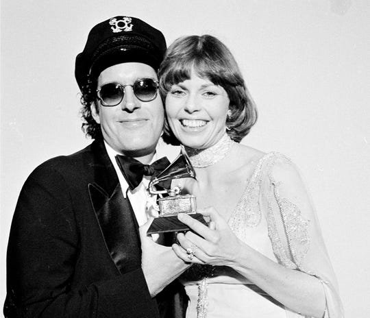 Daryl Dragon died early Wednesday, Jan. 2, in at a hospice in Prescott, Ariz., with his former wife and musical partner, Toni Tennille, by his side. (This file photo is from Feb. 28, 1976)