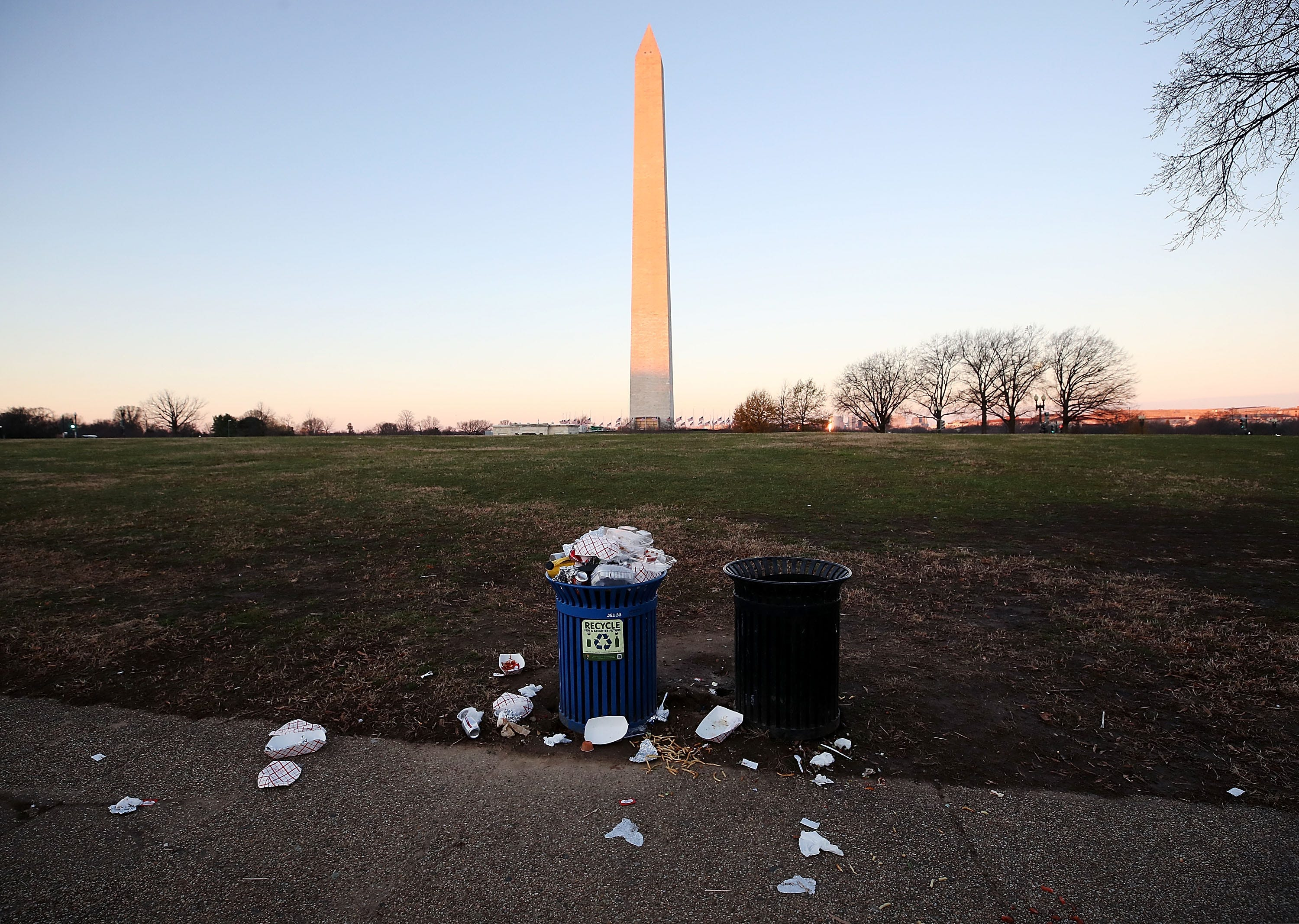 National Parks tap charities, concession operators, and the kindness of strangers to take out the trash