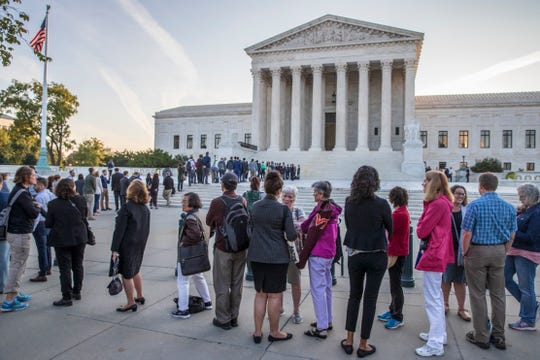 The Supreme Court will weigh in on the subject of workplace discrimination against gay men and lesbians.