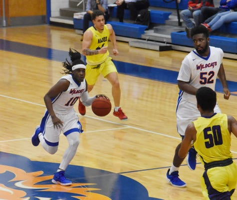 The Wildcats Of Louisiana College Play The Tornadoes Of Concordia University Thursday Jan 3 2019 At H O West Fieldhouse On The Lc Campus In Pineville Concordia Won 65 53