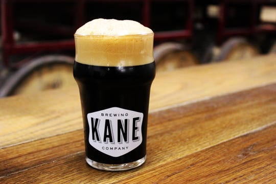 A glass of Morning Bell from Kane Brewing Company in Ocean Township.