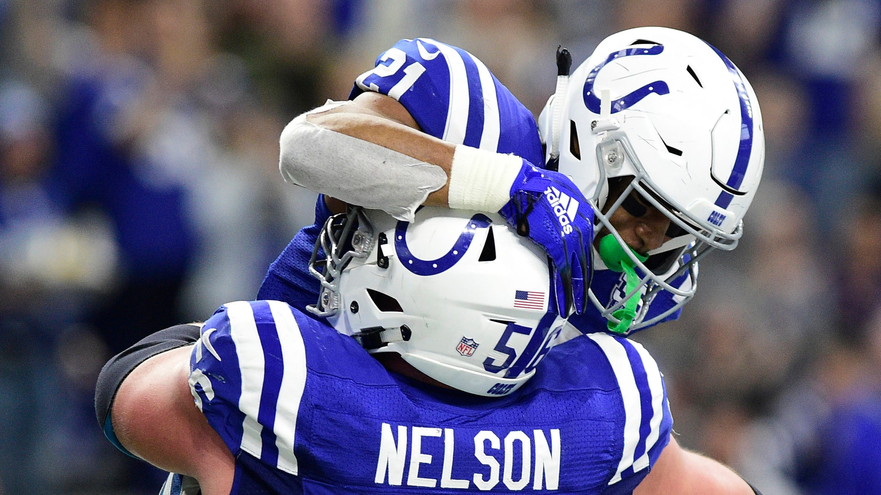 the latest fc4a7 0a7ed Holmdel native Quenton Nelson of Indianapolis Colts named ...