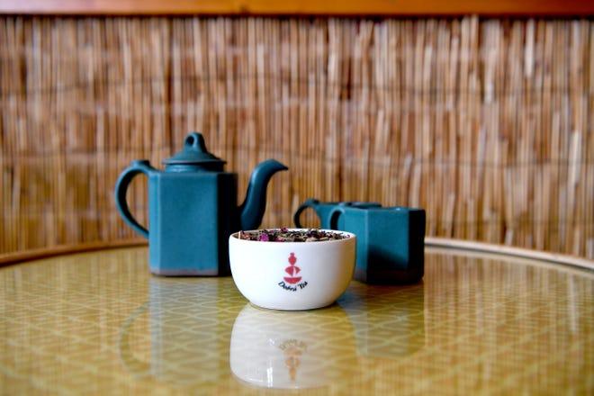 A blend of tea using Cannabidiol, or CBD, is available at Dobra Tea.