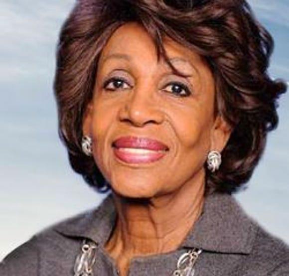 U.S. Rep. Maxine Waters, D-California