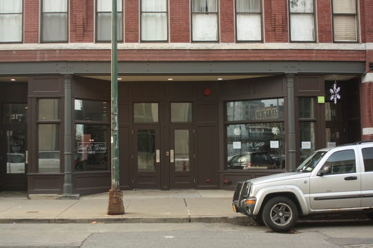 The Shop, located on 219 Washington Street, is up for sale along with the rest of the building.
