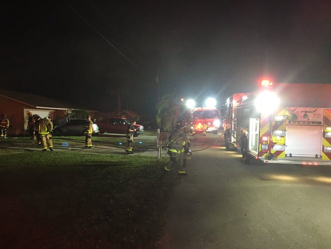 BCFR units respond to house fore in Port St. John
