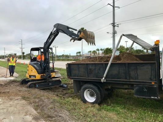 Crews repair water main break in Satellite Beach