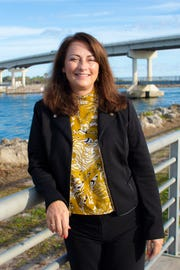 Lisa Leger Frazier was elected in November as Brevard County Seat 5 commissioner for the Sebastian Inlet District.