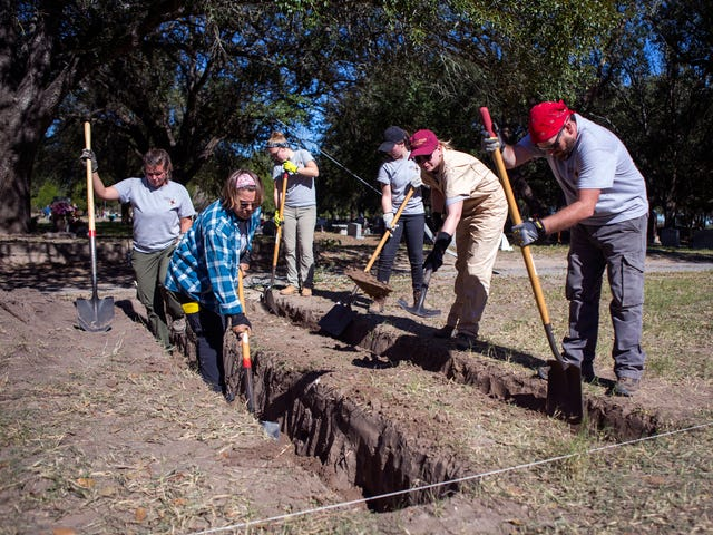 Exhumations in South Texas aim to identify bodies of 'long-term dead'