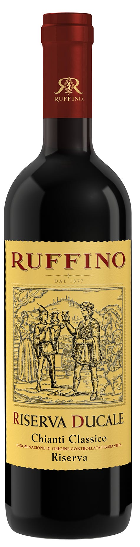 Ruffino Riserva Ducale's Chianti Classico is a wine preferred by the, uh, family.