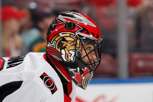 The Flyers claimed goalie Mike McKenna off waivers Friday. It was his third team he'd been on this week alone.