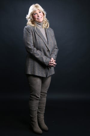 Ohio State Rep. Sara P. Carruthers, (R)-Hamilton, is pictured, Friday, Jan. 4, 2019, at The Cincinnati Enquirer in Cincinnati.