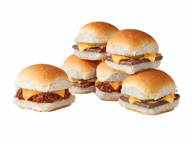 Sloppy Joe sliders are available from a limited time at White Castle.