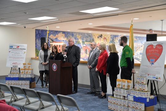 """The 2019 """"Have-A-Heart"""" Food Drive Challenge has kicked off in Woodbridge."""