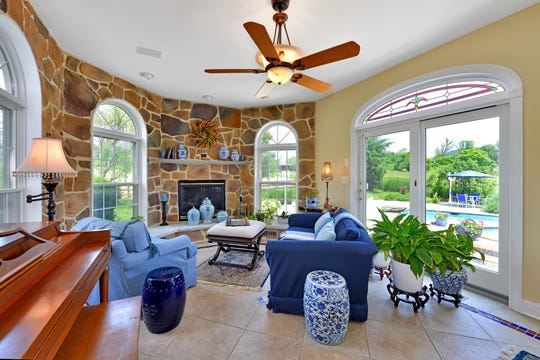 The Coachman's Run neighborhood in Union Township provides a backdrop for a 6,300 square foot Colonial estate with equestrian possibilities that is for sale for $775,000.