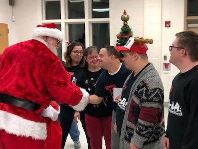 TA-DA! Productions (Theatre Adapted for Different Abilities) in Old Bridge recently held a holiday party thanks to Giusseppe's Pizza & Fine Italian Food in Old Bridge.