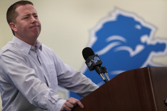 Lions general manager Bob Quinn enters his fourth season as the team's lead decision-maker.