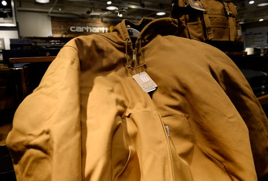 The J140 Active Jac coat was a big seller for Carhartt during the holiday season.