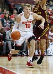 Ohio State's Justin Ahrens