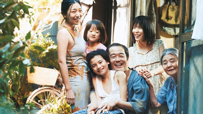 "The film ""Shoplifters"" is about a family that relies on shoplifting to cope with a life of poverty."