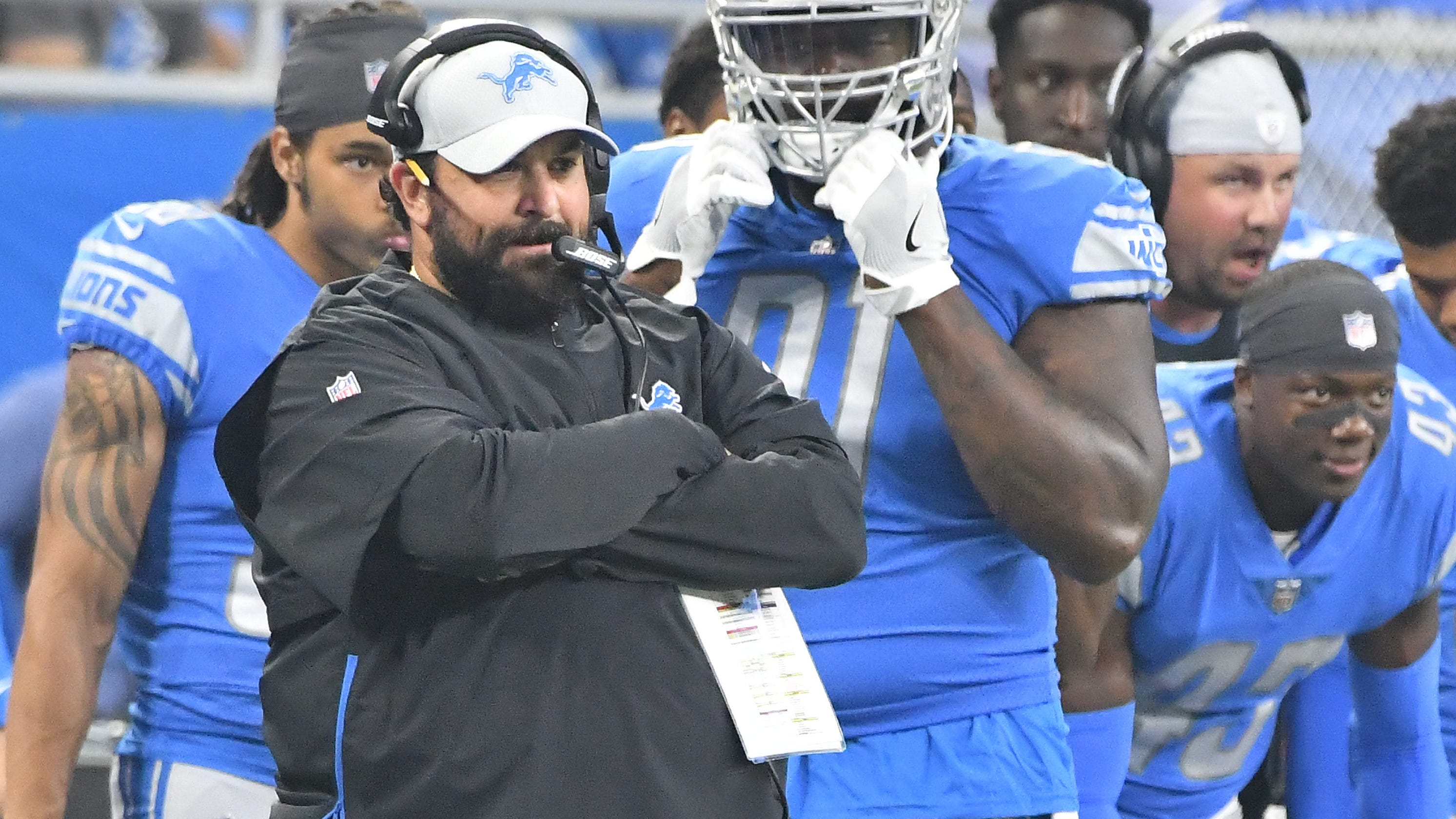 c0186cb6090 Lions never considered dismissing Patricia after assault allegations  surfaced
