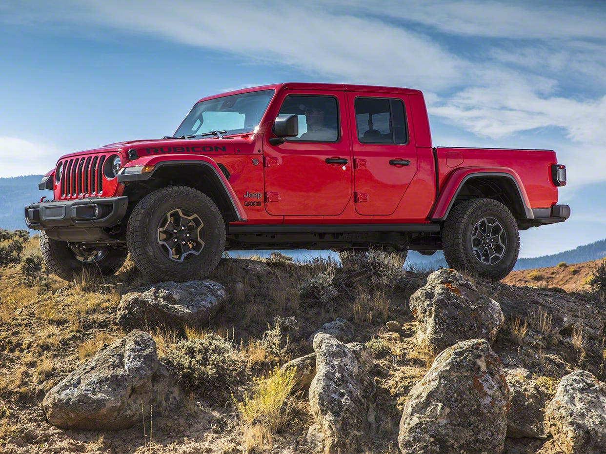 "Jeep Gladiator: Fiat Chrysler's SUV brand hasn't offered a pickup in 16 years, a severe oversight considering the big comeback of midsize trucks. Billed as ""the ultimate vehicle for any outdoor adventure,"" the 2020 Jeep Gladiator is more than just another new entry in the midsize pickup segment."