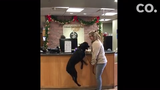 Endo, a black Labrador retriever from Fort Collins, got a sudden brush with fame last month.