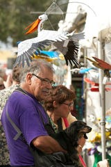 The Cape Coral Festival of Arts and Music is celebrating its 34th year, with the work of more than 300 artists featuring fine art, sculpture, pottery, jewelry, photography, metal works and mixed media.