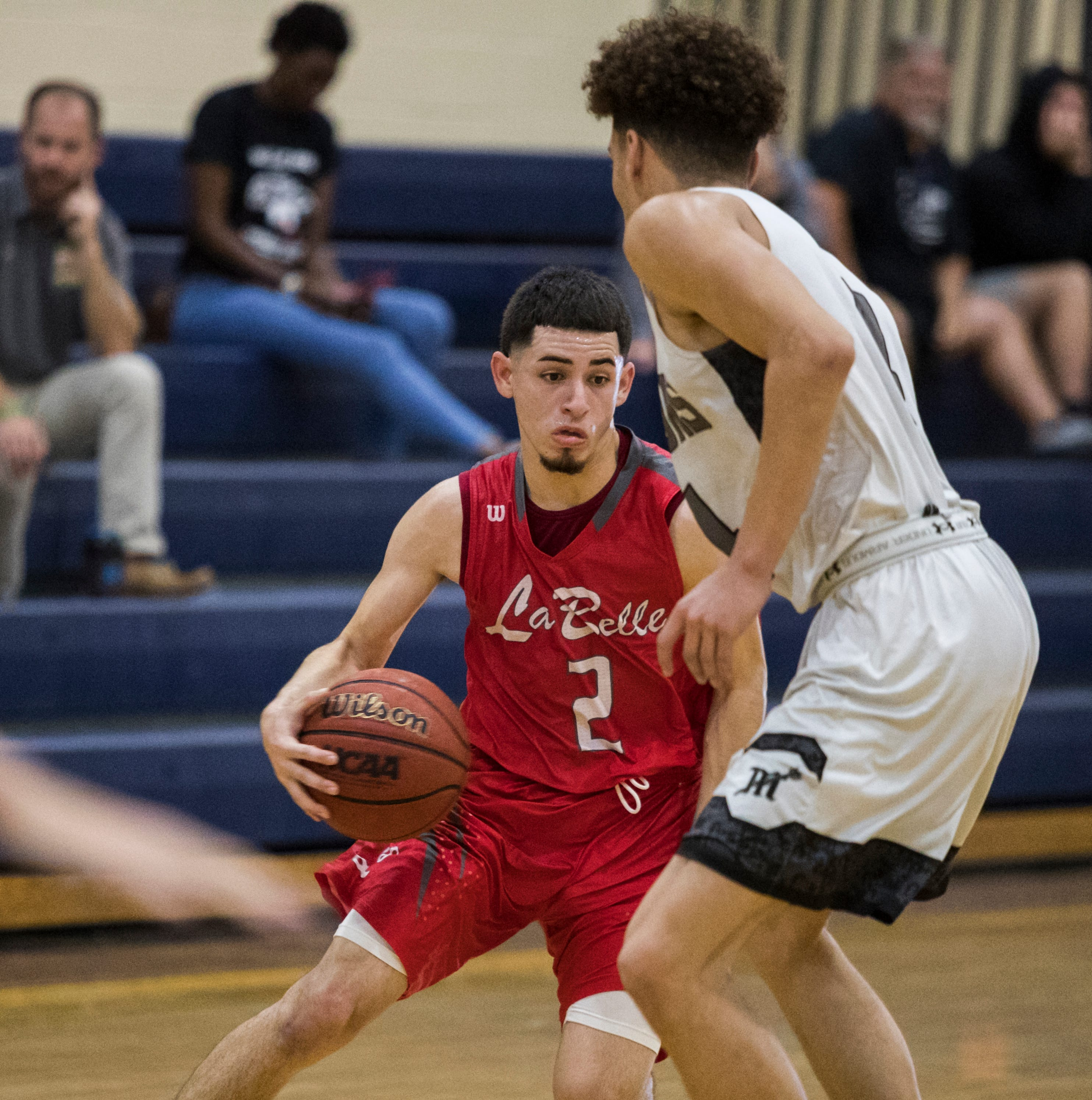 LaBelle's brand of hard-nosed defense, sharpshooting carries it in district title chase