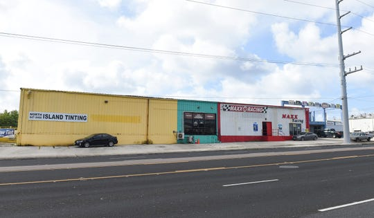 This building on Route 16, as pictured on Jan. 4, 2019, was part of a tax lien against Mid Pacific Distributors, which failed to pay millions of dollars in tobacco taxes. Rev and Tax Director John Camacho in September released the lien on this property after determining MidPac's other land holdings were sufficient to cover the tax debt.