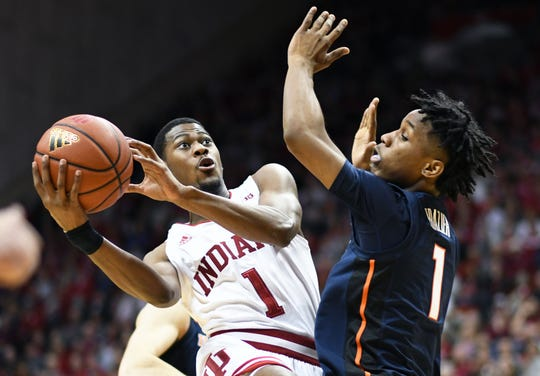 Al Durham has developed into IU's most consistent 3-point shooter this year.