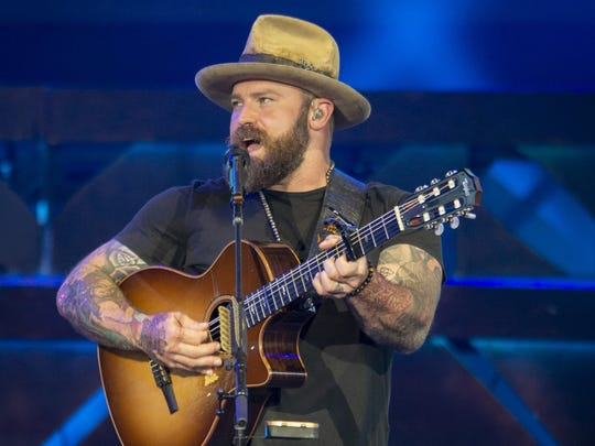 Zac Brown will lead the Zac Brown Band May 25 at Indianapolis Motor Speedway.