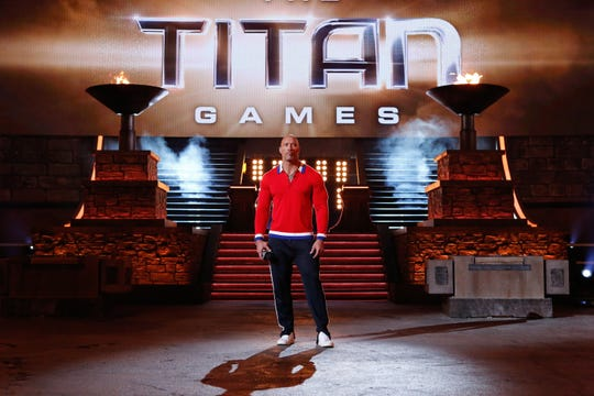 "Dwayne ""The Rock"" Johnson hosts NBC's ""The Titan Games."""