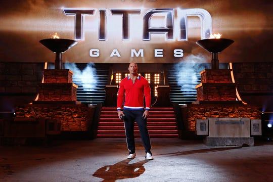 "Dwayne ""The Rock"" Johnson hosts NBC's ""The Titan Games."""