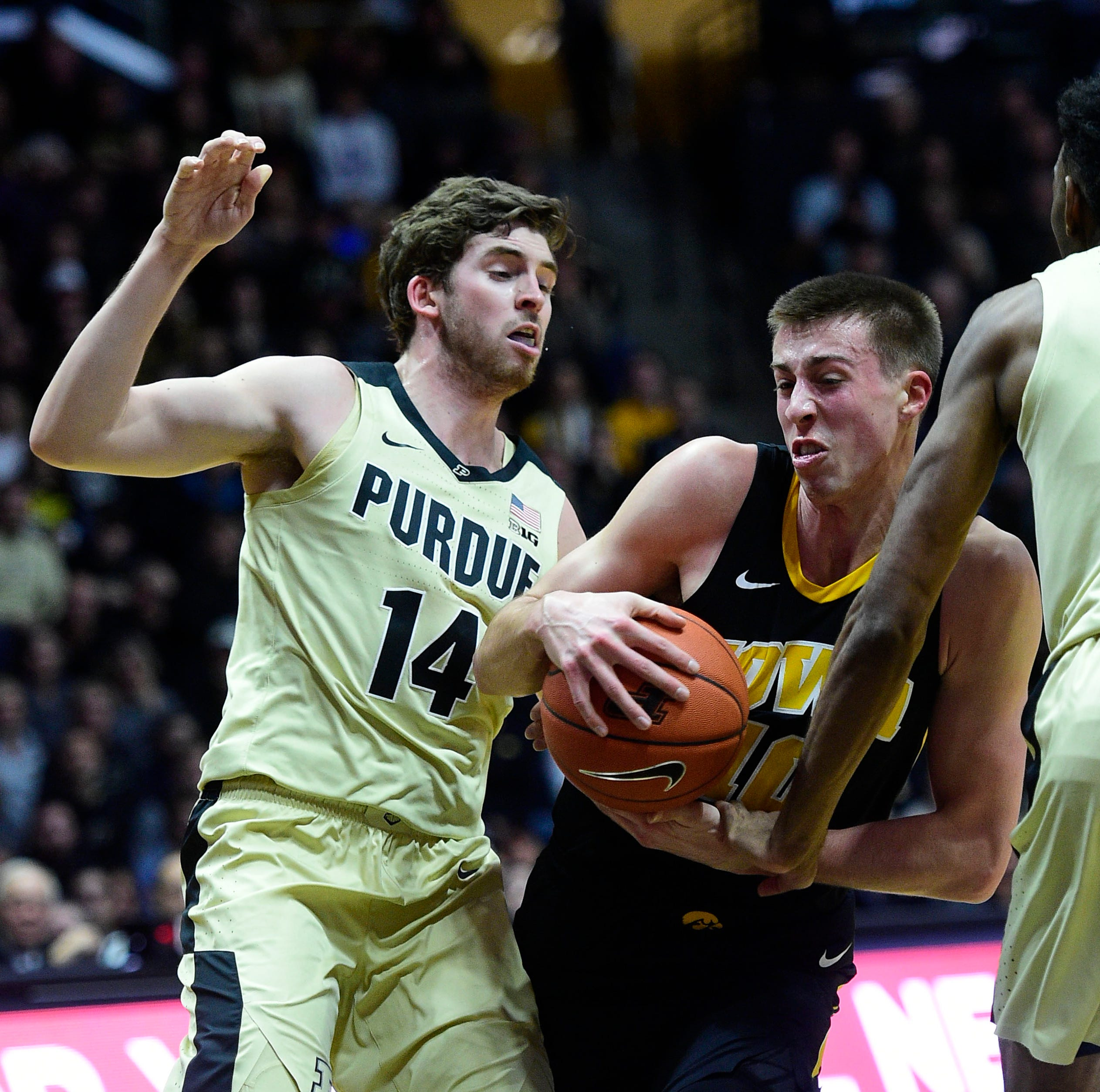 Purdue men's basketball turning a corner by winning the possession battle