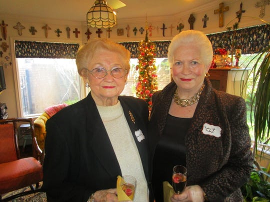 Frances Yates and Dianne Hudson
